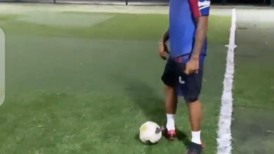 NAIJA.FM Davido Shows Off Football Skills As He Plays With Friends Davido