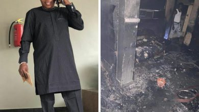 NAIJA.FM Sunday Igboho's House Burnt In Ibadan Sunday Igboho