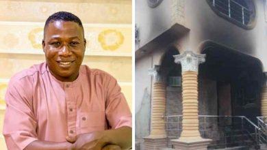 NAIJA.FM Police Finally Reveal Who Set Sunday Igboho's House On Fire Sunday Igboho