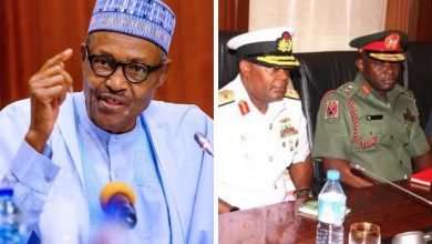 NAIJA.FM President Buhari Replaces 4 Service Chiefs Service chiefs