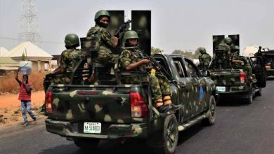 NAIJA.FM 300 Female Soldiers Been Drafted to Fight Kaduna-Abuja High-way Bandits 300 female soldiers