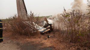 Military plane crash in Abuja