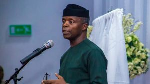 Osinbajo talks Cryptocurrency ban