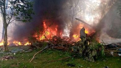 Plane Crash in Philippine
