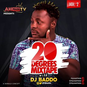 20 Degrees Mixtape - DJ Baddo