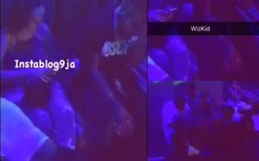 Wizkid Fights A Fan
