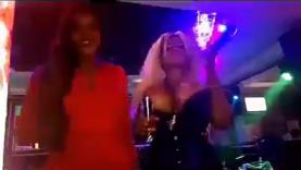 Cossy Orjiakor Pole Dancing
