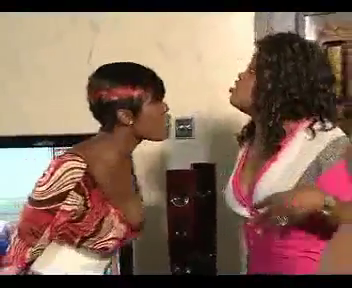 Funke Akindele And Mercy Johnson Engage In A Dirty Fight