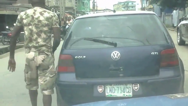 Soldier Who Assaulted A Civilian