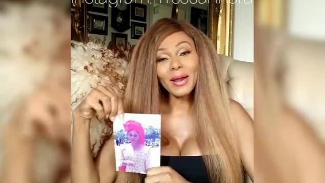 Nigerian Transgender Miss Sahhara Disowns Father