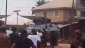 Nigerian Army Allegedly Raid Home Of  Nnamdi Kanu