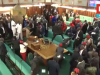 Ugandan Lawmakers Turn Karate Mafias In A Free For All Fight