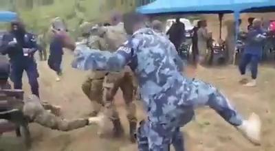 Soldiers Took The One Corner Dance Craze