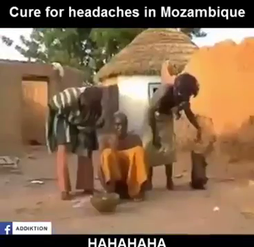 It's A Crime To Have A Headache In Mozambique