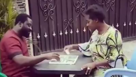 Watch As Mercy Johnson Beats Her Husband