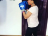 what the cameras caught Tonto Dikeh doing at the gym