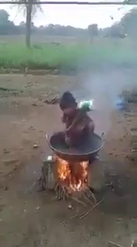 I Wonder How She Stayed In The Fire