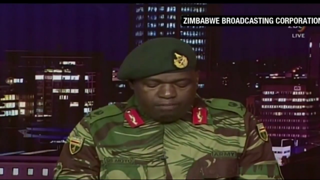 Mugabe Overthrown In The Zimbabwe Bloodless Coup