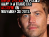 Some Facts About Paul Walker