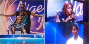 Seyi Shay slams a singer at Nigerian Idol