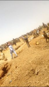 Zamafar residents mine gold